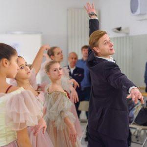 Die Generalproben in der Ballettschule