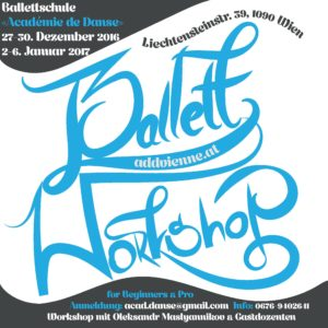 Workshop in unserer Ballettschule