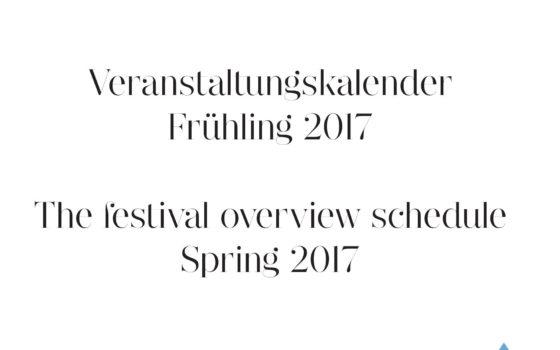 Veranstaltungskalender der Ballettschule
