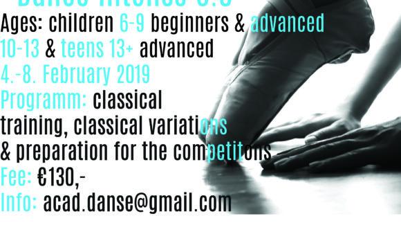 """Ballet Workshop """"DanceIntense 3.0"""""""