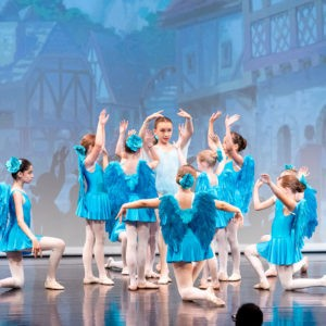 "Ballet school Vienna ""The brave Tailor"" Premiere"