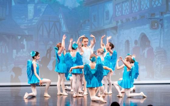 """Ballet school Vienna """"The brave Tailor"""" Premiere"""