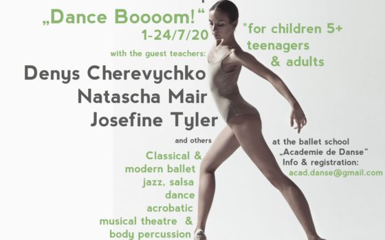 "Ballett-Workshop ""Dance Boooom!"""