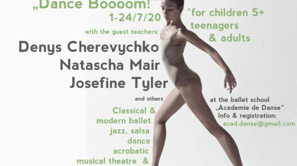 """Ballett-Workshop """"Dance Boooom!"""""""